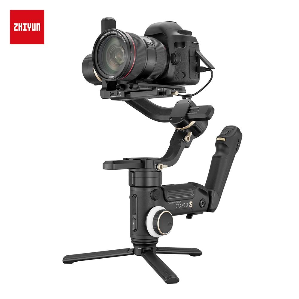 ZHIYUN vinç 3S S-E 3 oxlu el gimbal simsiz 1080p FHD DSLR kamera - Kamera və foto - Fotoqrafiya 4
