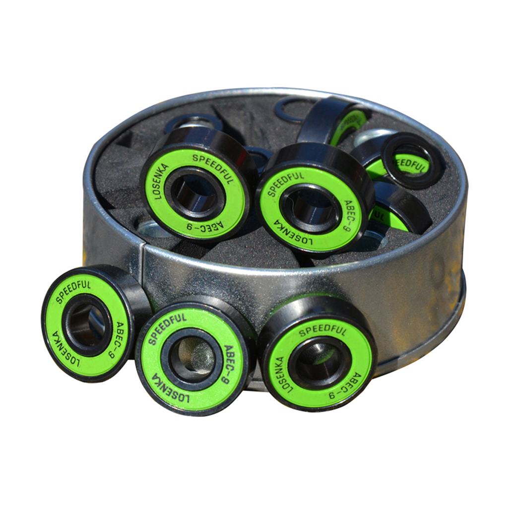 ABEC 9 Skateboard Longboard Bearings With  Spacers And Washers Replacement