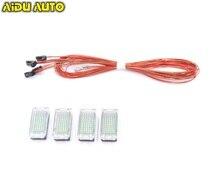 1 Set For VW Passat B8 Golf 7 Tiguan touran LED foot Light 5GG 947 409
