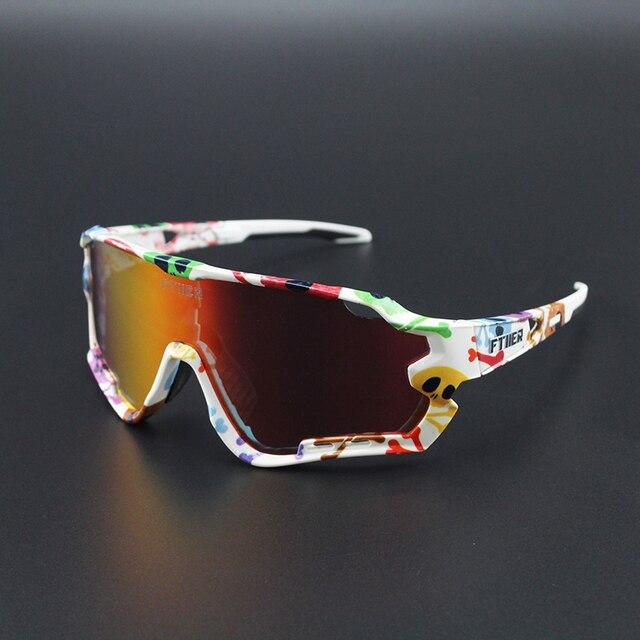 4 lente polarizada esportes ao ar livre da bicicleta óculos de sol gafas mtb ciclismo óculos peter homem 3