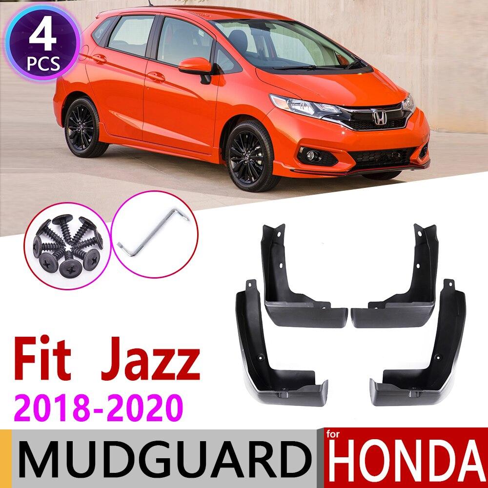 Front Rea Car Mudflap For Honda Fit Jazz GK 2018 2019 2020 Fender Mud Flaps Guard Splash Flap Mudguards Accessories 3rd 3 Gen
