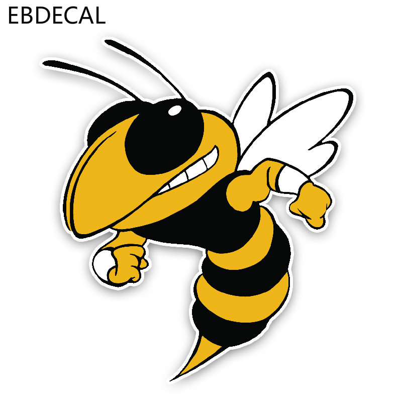 EBdecal Lovely Cartoon Hornets  For Auto Car/Bumper/Window/Wall Decal Sticker Decals DIY Decor CT10314