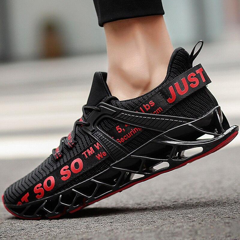 Erkek spor ayakkabı için koşu ayakkabıları erkekler eğlence yastık siyah Tenis marka nefes bahar tam eldiven çorap ünlü yeni yaz