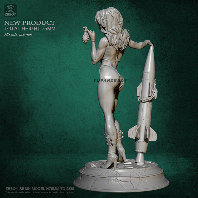 Missile Woman 75MM.