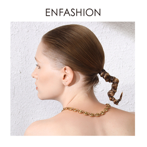 Image 5 - ENFASHION Punk Coffee Beans Link Chain Choker Necklace Women Stainless Steel Gold Color Hip Hop Rock Necklaces Men Jewelry P3022