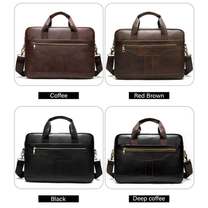 Image 5 - WESTAL messenger bag men briefcase/mens genuine leather laptop bags office bags for men bussiness design bag men leather tote