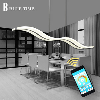 Russian warehouse Modern Led Pendant Light For Dining room Living room Kitchen Hanging Lamp Pendant Lamps 38w Lustres 110V 220V gold led dressing room pendant lamp with acryl shade bedroom dining room pendant light chinese style e27 lustres e pendentes