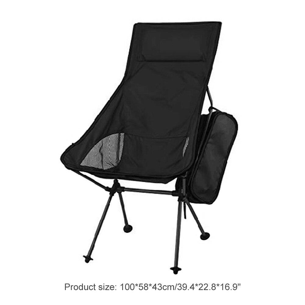 Ultraleve dobrável cadeira 7075 liga de alumínio