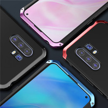 Metal Armor Phone Case For Vivo X30 Pro Case Shockproof Aluminum Matte Pc Cover 360 Full Protection Coque For Vivo X30 Pro Funda plating tpu phone case for vivo x30 x30 pro soft silicone upscale phone cases mobile phone accessories
