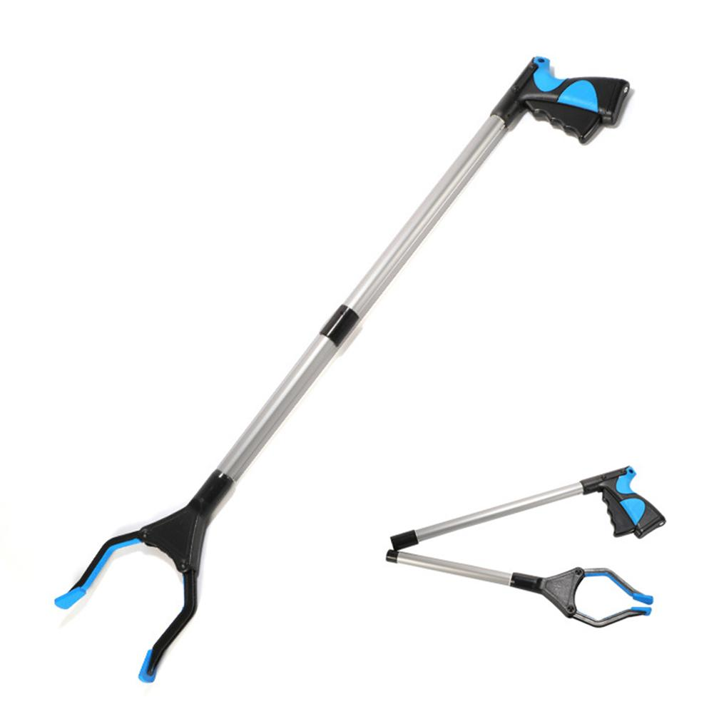 Long Grabber Reacher Rotating Gripper Mobility Aid Reaching Tool Trash Litter Pick Up Garden Picker For Wheelchair And Disabled