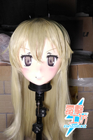 (RAIGEKI MAKS 85) Resin Crossdresser DOLL BJD Kigurumi Anime Kantai Collection shimakaze Cosplay Head Mask