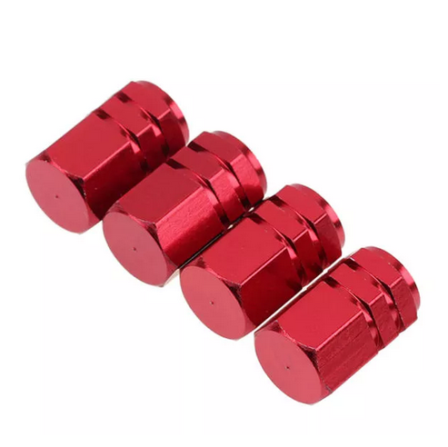 4 sztuk opona samochodowa trzonki zaworu Bolt-in aluminium Theftproof nakrętki zaworu koło samochodowe zawory do opon Tire Stem Air caps