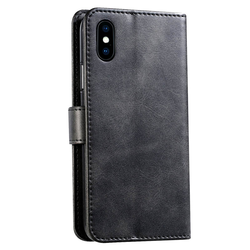 Retro Leather Flip Case For Huawei Y538 Case Wallet Stand Cover For Huawei Ascend Y560 Fundas Business Coque For Huawei P8 Lite - 3