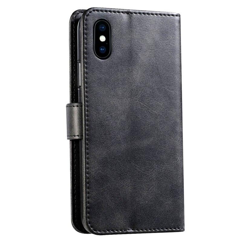 Retro Lederen Flip Case Voor Huawei Y538 Case Wallet Stand Cover Voor Huawei Ascend Y560 Fundas Business Coque Voor Huawei p8 Lite - 3