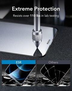 Image 3 - Esr iPhone 12 pro max用のタフレンズ付き保護ガラス,強化ガラス,フルカバー,2個