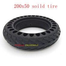 Высококачественные взрывозащищенные безкамерные шины 200x50 для электрического велосипеда, скутера, 8 дюймов, мотоциклетные шины с твердыми к...