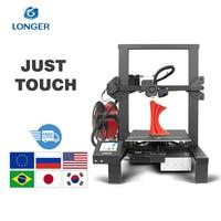 LONGER 3D Printer LK4 FDM 3D Printer Touch Screen 3D Printing V slot Resume Printing Power Failure Printing