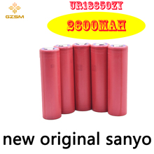 GZSM 18650 battery for Sanyo UR18650ZY rechargeable 2600mAh 3.6V 10A For replacement
