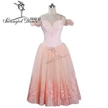 light pink ballerina tutu dress for women giselle ballet tutu dress costumes adult tutu ballerina dress kids BT9089