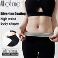 Frauen Sweat Sauna Anzüge Körper Shapers Silber ionen Beschichtung Thermo Hosen Frau Hohe Taille Trainer Abnehmen Shorts Fitness Leggings
