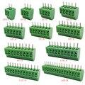 KF128-2.54 2P 3P 4P 5P 6P 7P 8P 9P 10P 12P 16P Splice Terminal KF128 2.54mm PCB Mini Screw Terminal Blocks for Wires 5/10pcs
