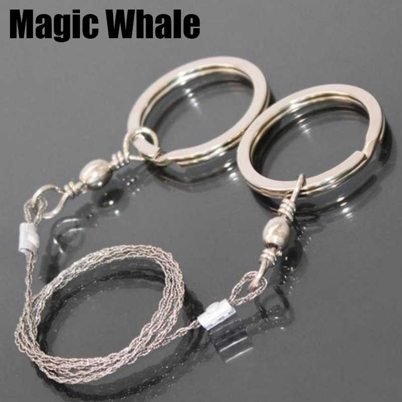 Emergency Survival Gear Steel Wire Saw Outdoor Camping Hiking Hunting Climbing Gear