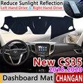 Для Changan Новый CS35 2018 2019 2020 Противоскользящий коврик для приборной панели  защита от солнца  коврик для защиты от УФ-излучения  автомобильные ...