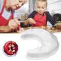 3D силиконовая форма для торта в форме алмаза в форме Луны, форма для выпечки в форме полумесяца, «сделай сам», шоколадный кухонный инструмен...