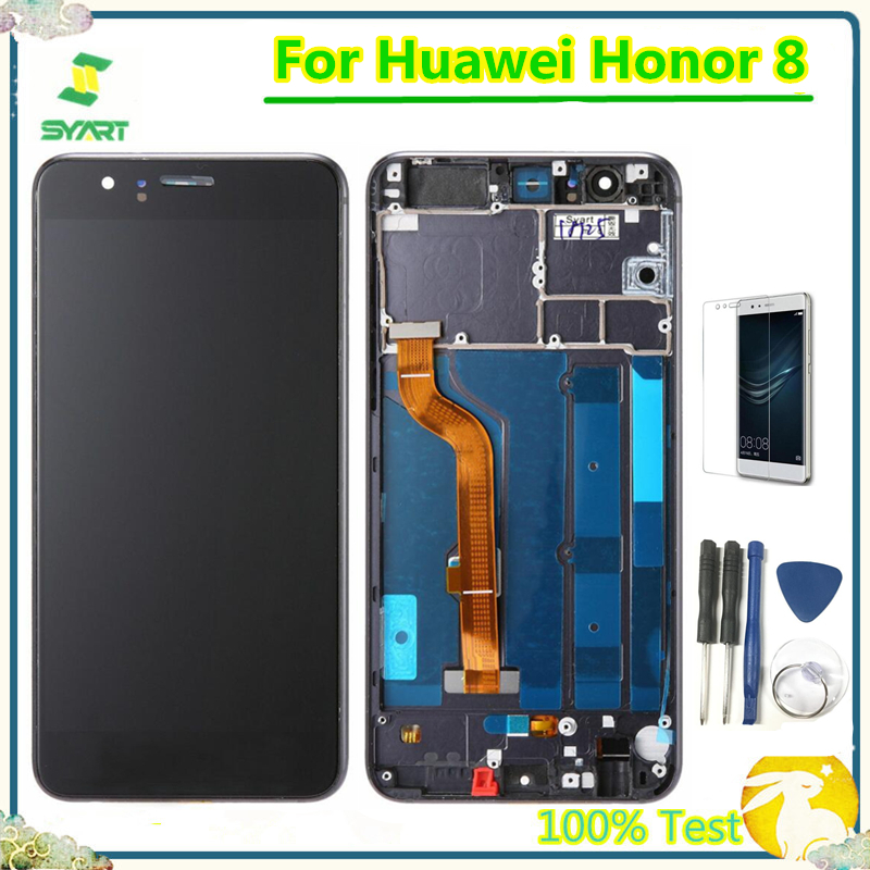 5,2 ''Ehre <font><b>8</b></font> <font><b>LCD</b></font> <font><b>Display</b></font> AAA Qualität <font><b>LCD</b></font> <font><b>Display</b></font> Digitizer Sensor Glas Panel Montage Für Huawei Ehre <font><b>8</b></font> FRD-L19 FRD-L09 image