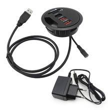 2021 yeni ab abd dağı masa USB 3.0 tip C Hub TF/USB kart okuyucu adaptörü dizüstü PC için