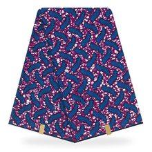 african tissus real dutch wax 6yard pagne ankara fabrics 100% Cotton sewing material