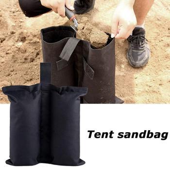 Namiot naprawiono worki z piaskiem waga torby parasol podstawa stojak z piaskiem stały namiot schronienia akcesoria kempingowe słońce narzędzia do pracy na zewnątrz noga G2L9 tanie i dobre opinie CN (pochodzenie) Z włókna węglowego Z tworzywa sztucznego HIKE
