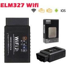 2020 ELM 327 V1.5 OBD2 Wifi Scanner For IOS/Android OBD OBD 2 Auto Car Diagnostic Auto Tool ELM327 V1.5 WI FI Scaner Automotivo