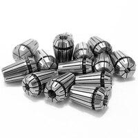 14 個 ER20 高品質セット帝国鋼春コレット cnc 工作物保持彫刻フライス旋盤ツール