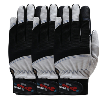 QIANGLEAF 3pcs Hot Sale Safety Cycling Gloves Motorcycle Glove Motocross Gloves Sport Bike Protective Work Glove 7-B qiangleaf 3pcs new free shipping protection glove d grade cowhide yellow ultrathin leather safety work gloves wholesale 527np