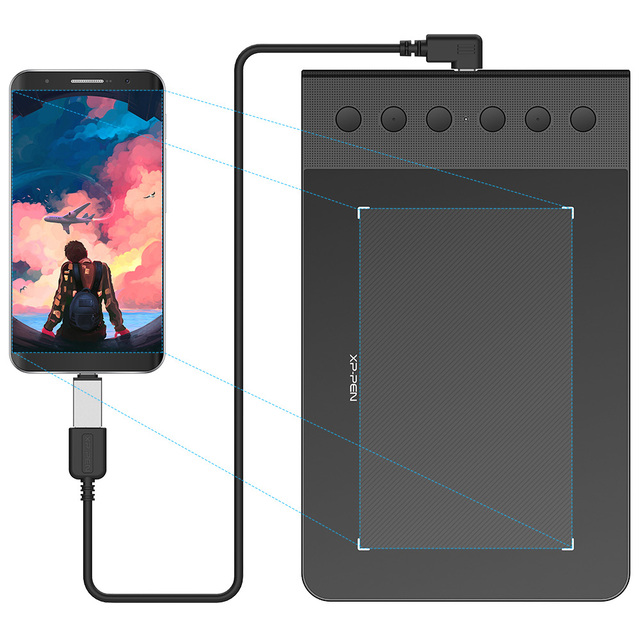 star  pro  affordable digital drawing tabletxp