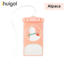 ihuigol Waterproof Bag for Mobile Phone Underwater Dry Case Pouch Cases For iPhone 12 11 Universal Diving Swim Water Proof Cover