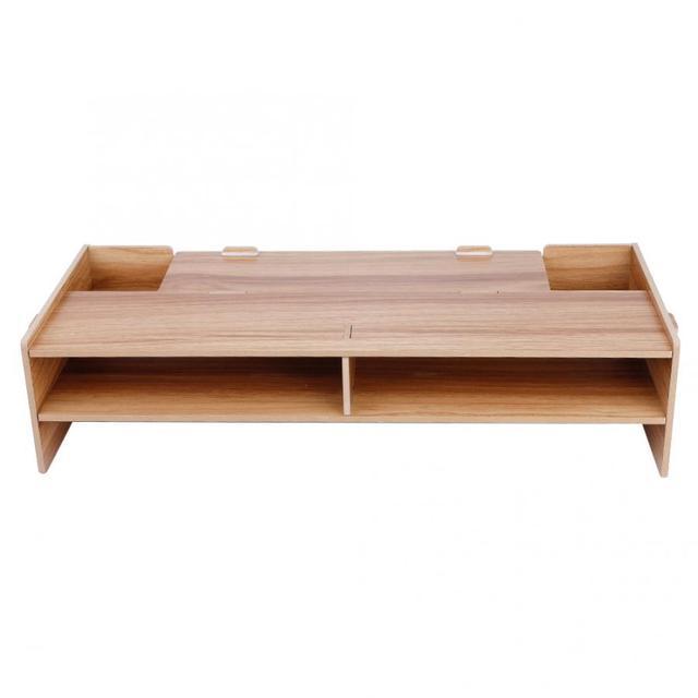 Business Office Furniture Laptop Desk Computer Wood Shelf