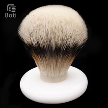 Boti Brush-SHD Silk HMW Silvertip Badger Hair Bulb Type Exclusive Beard Shaping Tool Daily Shave Care Tools