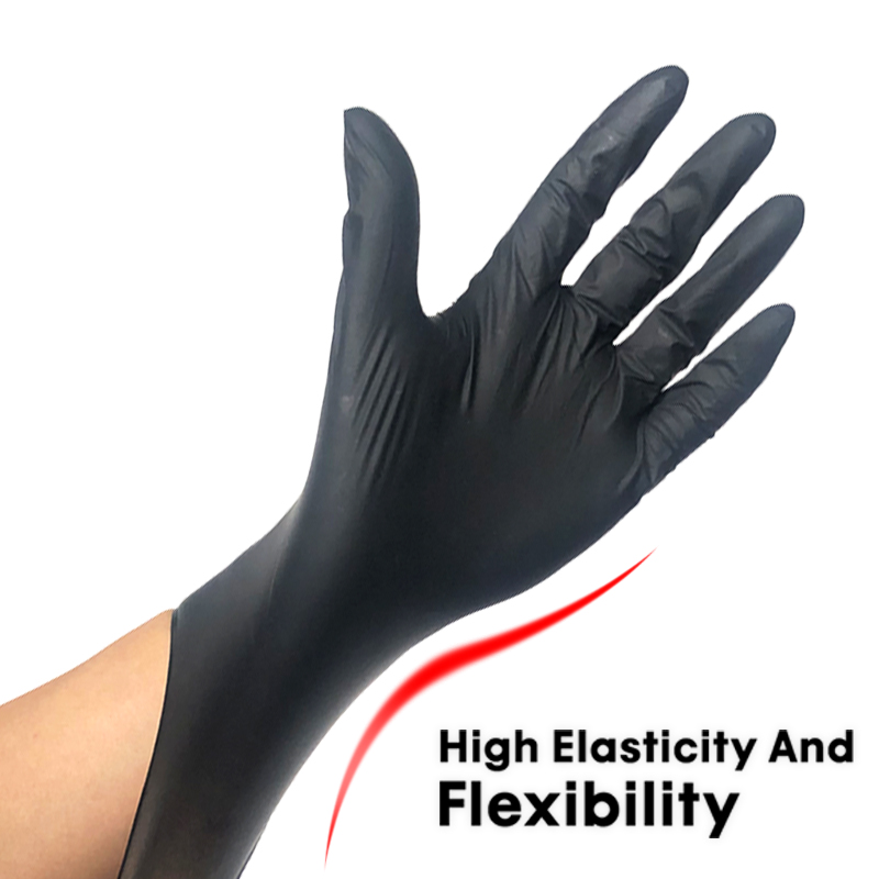 100Pcs Disposable Gloves Latex Nitrile Rubber Household Kitchen Dishwashing Gloves Work Garden Universal for Left and Right Hand