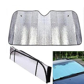 130*60CM Car Windshield Sun Shade Reflector Lightproof Protector Screen Sun Visor Cover Block Anti-UV Cover Car Accessories image