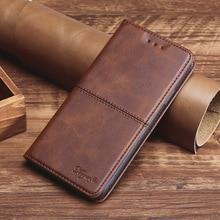 Luxury Leather Case for Oukitel U18 U22 C8 Mix 2 C12 C13 C15 C16 C17 Pro Flip Wallet Phone Case TPU Back Cover Magenet Book