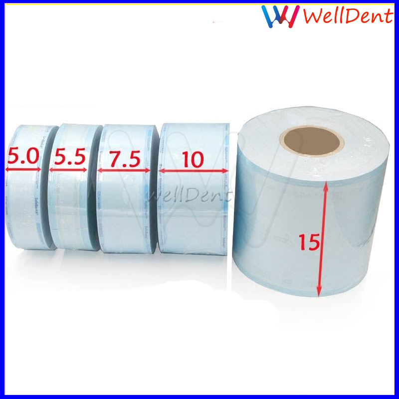 Dental Sterilization Disinfection Bags Roll Bags Of Sterile Medical Sterilization Bags Dental Roll Oral Dental Instrument