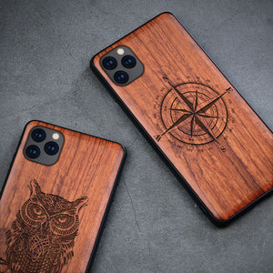 Image 3 - Natural Wood Case For Samsung Galaxy Note 20 Ultra Note 10 S10 S20 Plus 100% Wood Case For iPhone 12 11 Pro 7 8 Plus X XR XS Max