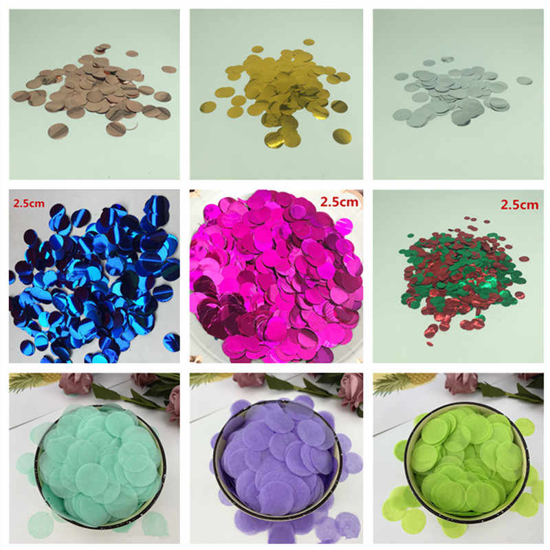 20g Round Circle Tissue Paper Party Confetti Dots Christmas Red /& Green