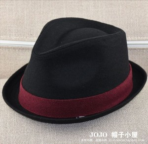 Image 2 - Big Head Men Large Size Fedora Hats Dad Winter Party Formal Jazz Hat Male Plus Size Wool Felt Hat 57 58cm 59 60cm 60 62cm