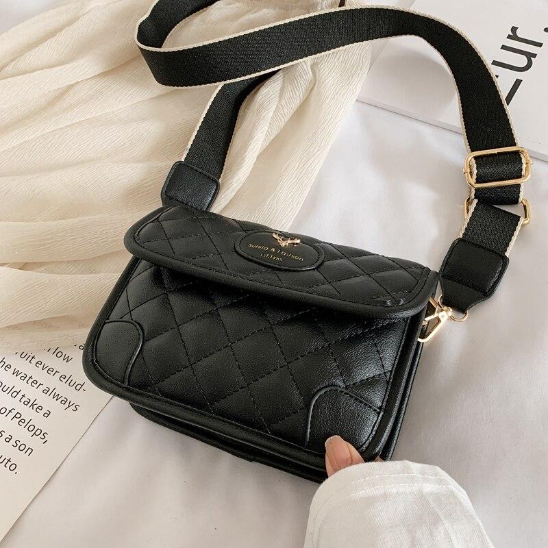 2020 New Fashion Luxury Chains Women Bags Plush Wool Bag Tide Chain Single Shoulder Small Square Handbags Minaudiere Bag