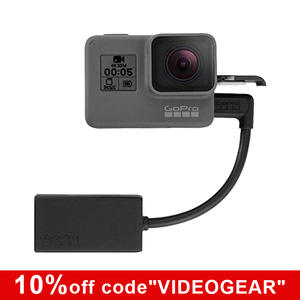 Cable Microphone-Adapter HERO AAMIC-001 BLACK Session/hero6 Gopro for 8 Original