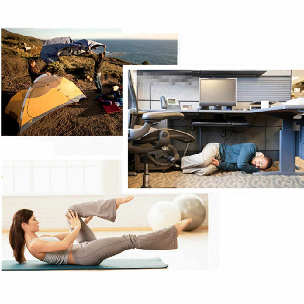 Yoga Mat alüminyum Film nem geçirmez spor jimnastik paspaslar egzersiz egzersiz spor Fitness Pilates ped kaymaz halı paspas