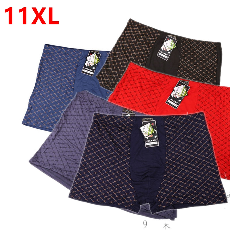 Men's No-fly Boxer Kingsize Big And Tall Extra Large Oversized Male Underwear Plus Size Bountyless Pants 11x 9XL 10XL